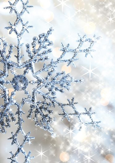 1678 - Snowflake Magic Branded Christmas Card